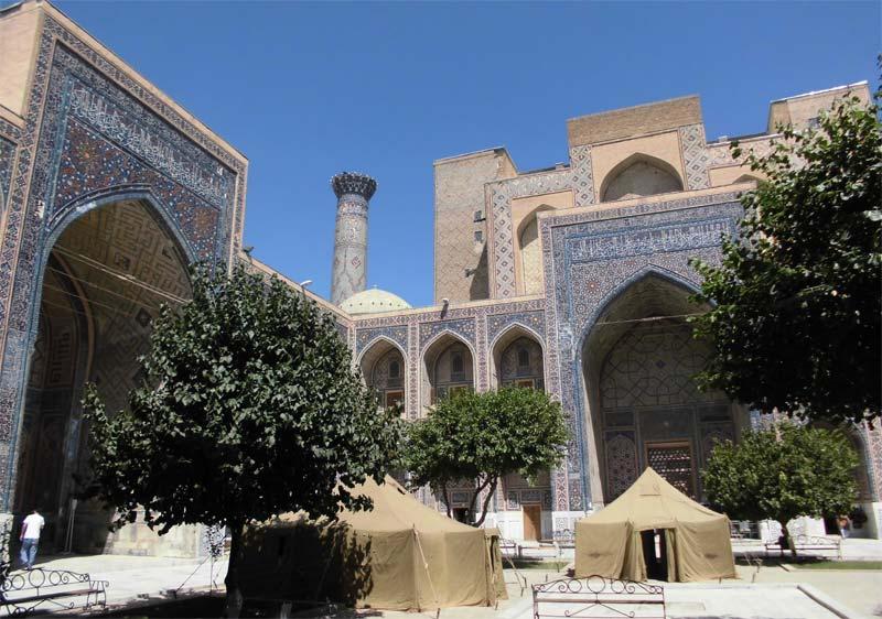 Registan-Festival-Vorbereitungen