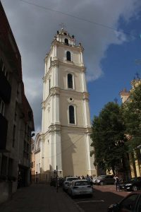 Glockenturm der Johanneskirche